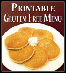 Our Gluten free pancake batter filled with fresh bananas and topped ...